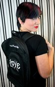 Image of &quot;Love &amp; Peace&quot; Back Pack/Carry Bag