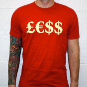 Image of &amp;pound;&amp;euro;$$ - Red