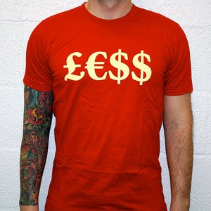 Image of £€$$ - Red