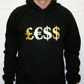 Image of &amp;pound;&amp;euro;$$ - Black Hoody