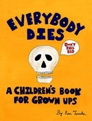Image of Everybody Dies Book + Original Preliminary Sketch