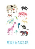 Image of Menagerie Print - Available in 2 sizes