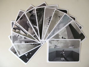 "Image of ""Perpendicular Dreams"" - 12 Postcards Set"