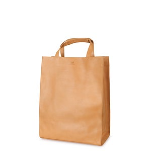 Image of Leather Shopper