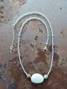 Image of Jewelry, 'Beaded Turquoise' Necklace