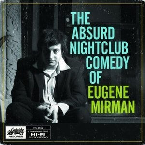"Image of Eugene Mirman, ""The Absurd Nightclub Comedy of Eugene Mirman"" CD/DVD"