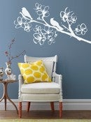 Image of Vinyl Wall Sticker Decal Art - Spring Time