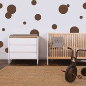 Image of Vinyl Wall Sticker Decal Art - Bubbles or Circles