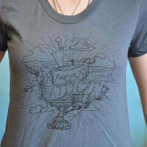Image of Women's Official Pattycake T-shirt Grey