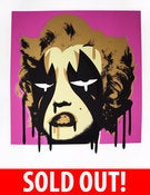 Image of PISSTAKE MARILYN ARTIST PROOF (ivory, pink)