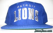 Image of VINTAGE STARTER DETROIT LIONS BIG BLOCK SNAPBACK