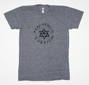 Image of Psychedelic Judaism T-Shirt Gray