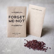 Image of Printable Seed Wedding Favors (Digital Template)