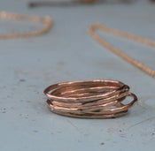 Image of 14k Gold Filled Stacking Rings