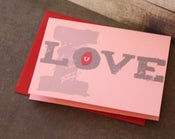 Image of I Love U note cards