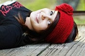 Image of Headwrap Earwarmer Crochet Pattern 'The Vintage Chic'
