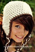 Image of Adult Earflap Pattern Crochet Pattern