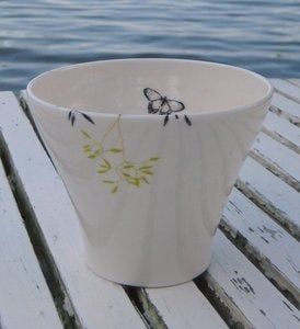 Image of Porcelain Grass Cup