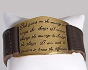 Image of Serenity Prayer Bracelet