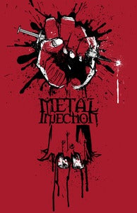 "Image of METAL INJECTION ""COLD DEAD HAND"" PRINT"