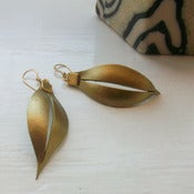 Image of masai earrings  - small and large