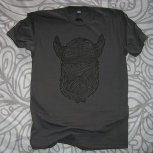 Image of Asphalt Viking Beard T Shirt