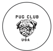 Image of Pug Club USA Button