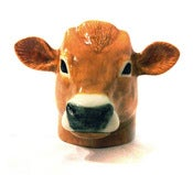 Image of BROWN COW EGG CUP