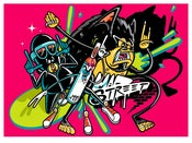 Image of MAD STREET Serigraph Print **Limited Stock**