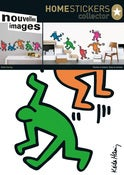 Image of KEITH HARING DANCING PEOPLE WALL STICKERS