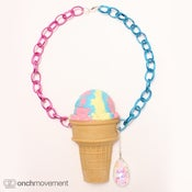 Image of Rainbow Scoop Cone