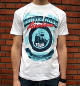 "Image of Minitel Rose ""Atlantique Tour"" Tee"