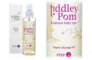Image of Organic Baby Massage Oil