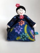 Image of Peranakan Woman Doorstop with lace kebaya