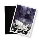 Image of Nosferatu ditches the ship- print