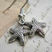 Image of Simple Starfish Dangle Earrings