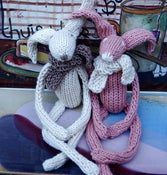 Image of Lapin en coton &amp; soie