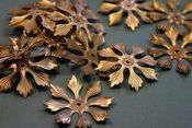Image of A Large Vintage Copper Floral Layer