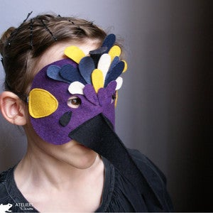 Image of Masques violet n3