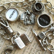 Image of Author! Author! Playwright Writers Charm Bracelet