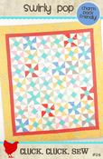Image of Swirly Pop Quilt Pattern #114, Paper Pattern