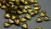 Image of Small Brass Hearts