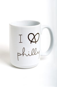 Image of I Pretzel Philly mug