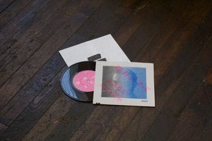 "Image of W-H-I-T-E / Amen Dunes ""Fountain"" Single 7"""