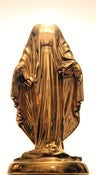 Image of Wynn Bauer, &quot;Porcelain Headless Virgin Mary&quot; 2010 Vase Sculpture - Edition of 20