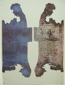 Image of Danielle Lange &quot;Broad St, 2009&quot; Rusted Metal Intaglio Etching - 15x20