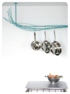 Image of Merkled Pot Rack - L-shaped