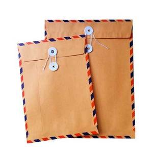 Image of String & Button airmail envelopes