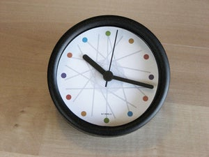 Image of haywire multi-color desk clock
