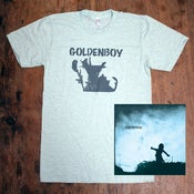 Image of Goldenboy Package #1: CD + tee + signed poster
